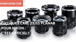 Optiques Carl Zeiss Planar pour Nikon