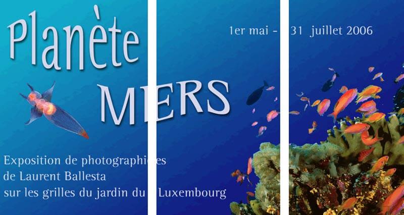 Laurent ballesta exposition plan te mers au jardin du - Exposition jardin du luxembourg ...
