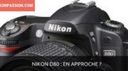 Nouveau Nikon D80
