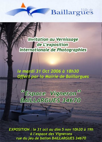Expo internationale de photographie de Baillargues