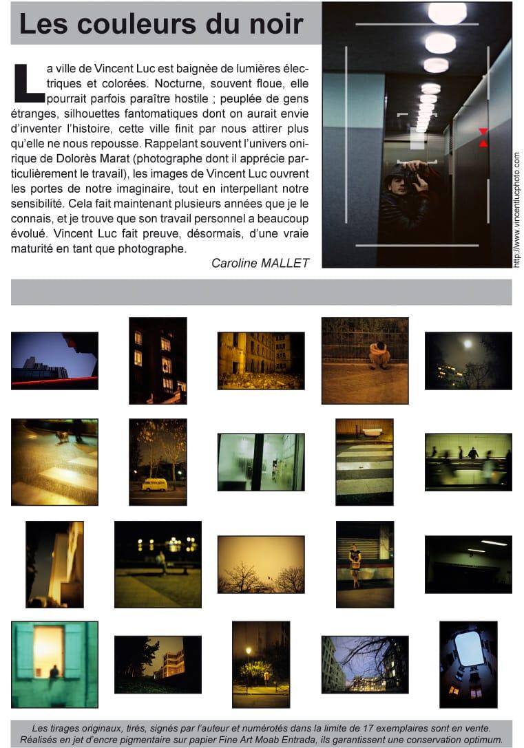 Invitation expo Vincent Luc