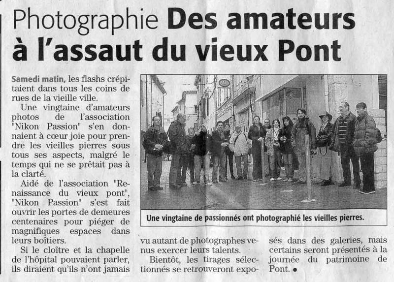 Première couverture de presse pour Nikon Passion !
