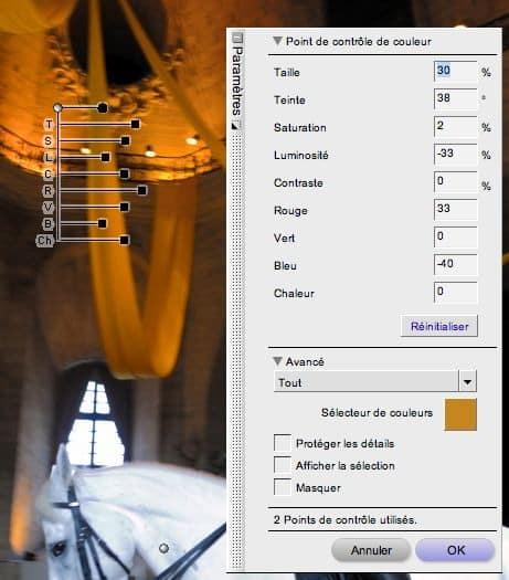 Guide de développement NEF avec Nikon Capture NX