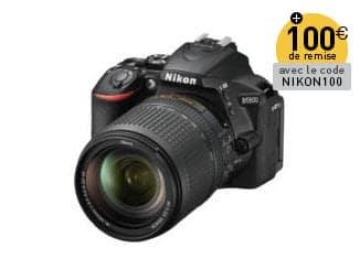 Promotion Nikon Miss Numerique  Nikon D5600 18-140
