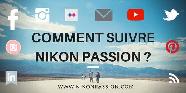 Comment suivre Nikon Passion ?