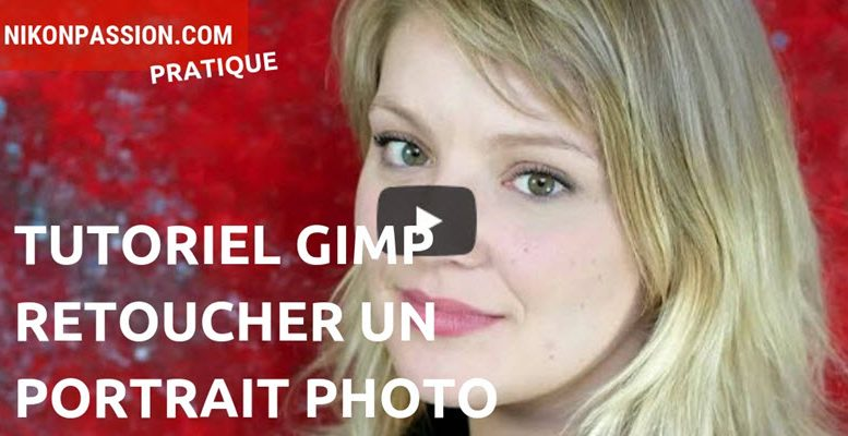 Tutoriel Gimp : comment retoucher un portrait photo