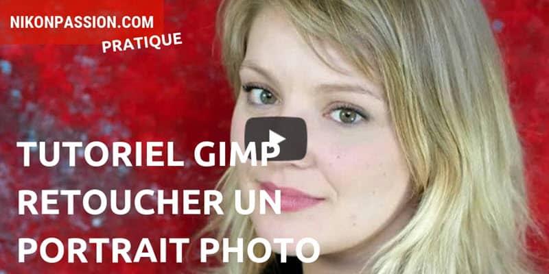 Tutoriel Gimp : comment retoucher un portrait photo