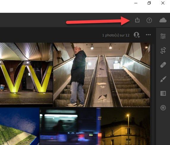 Comment réduire la taille des photos avec Lightroom Cloud