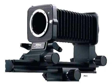 soufflet macro Nikon PB-6