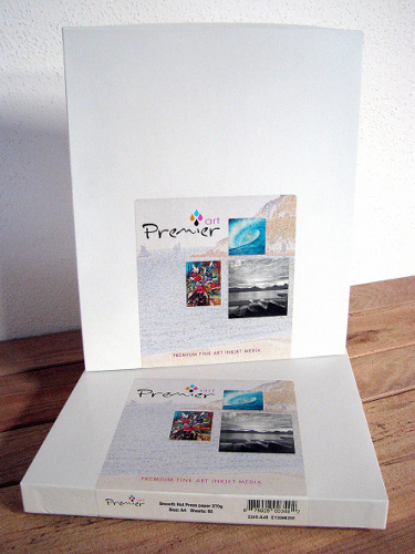 papier jet d'encre photo RAUCH Premier Art Smooth Hot Press