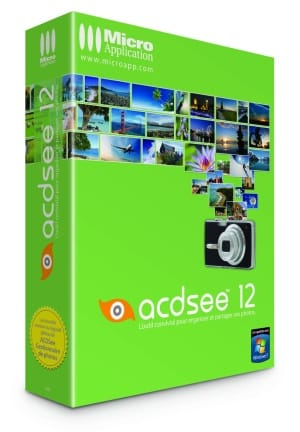 ACDSee 12 logiciel traitement photos Micro Application