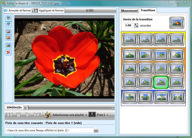 PhotoDVD création de diaporamas et gravure photo sur DVD