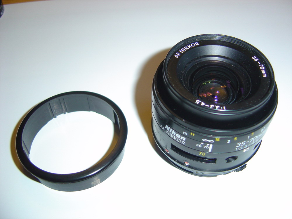 Comment démonter un objectif Nikon ?