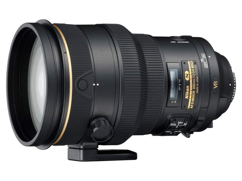 Fiche Technique du Nikon AF-S 200mm f/2