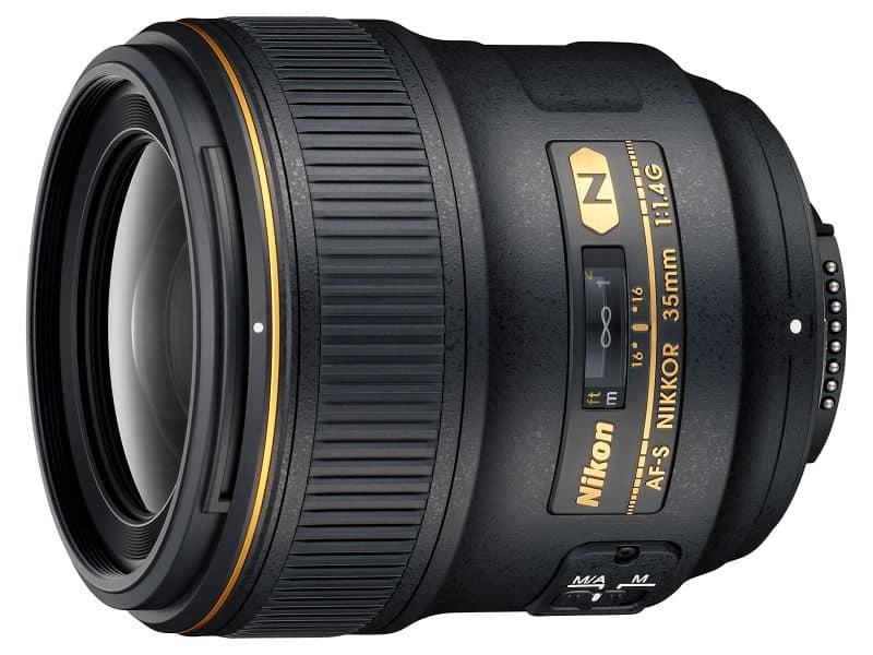 guide d'achat objectif Nikon AF-S NIKKOR 35 mm f/1,4G
