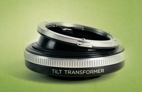 Lensbaby Tilt Transformer pour les boîtiers hybrides sans miroir