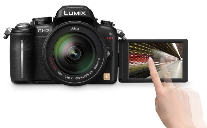 nouveau Panasonic Lumix GH2