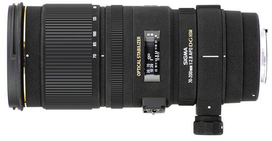 SIGMA APO 70-200mm F2.8 EX DG OS HSM pour Nikon, disponible