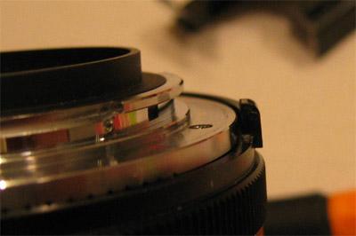 Comment transformer un objectif Nikon F en Nikon modifié AI ?