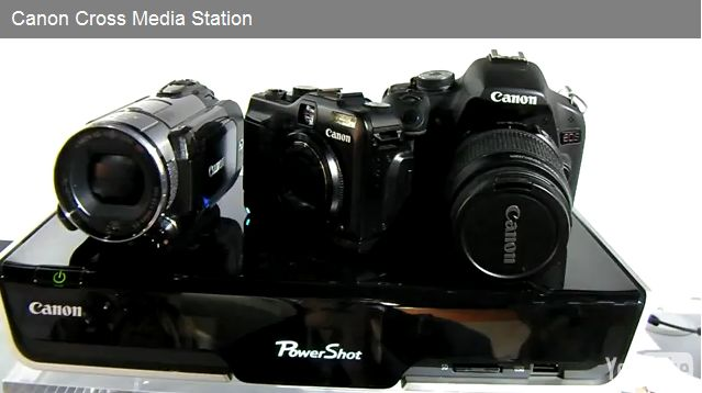 Canon Cross Media Station