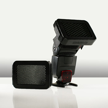 diffuseur flash grille nid abeille