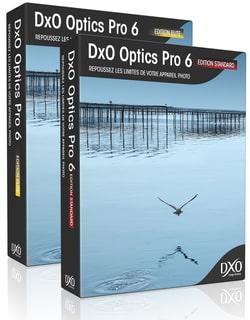 DxO Optics Pro 6.6 Mise à jour