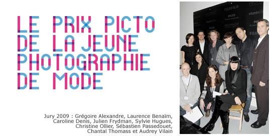 Le prix Picto de la Jeune Photographie de mode 2010 Appel à canditature