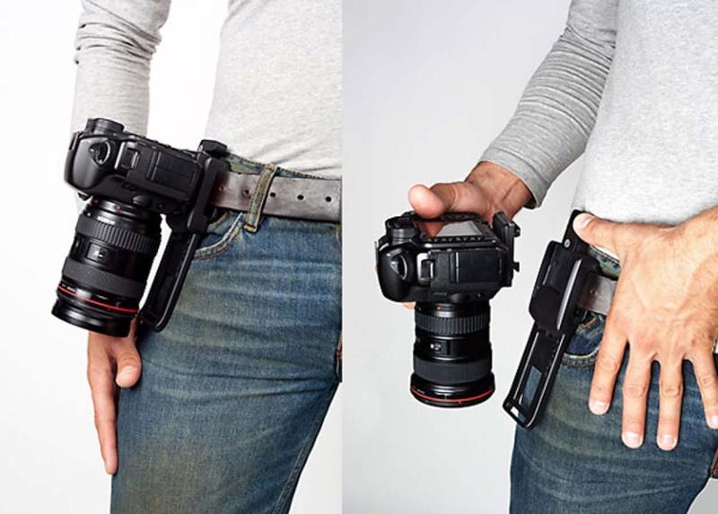 B grip support ceinture pour reflex num rique nikon passion for Housse anti bruit reflex