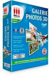 galerie photo 3D flash