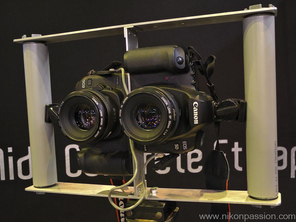 canon EOS 5D et photo 3D