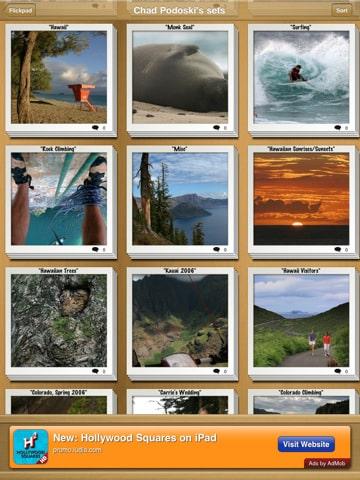 Flickpad application flickr pour votre ipad nikon passion for Application miroir pour ipad