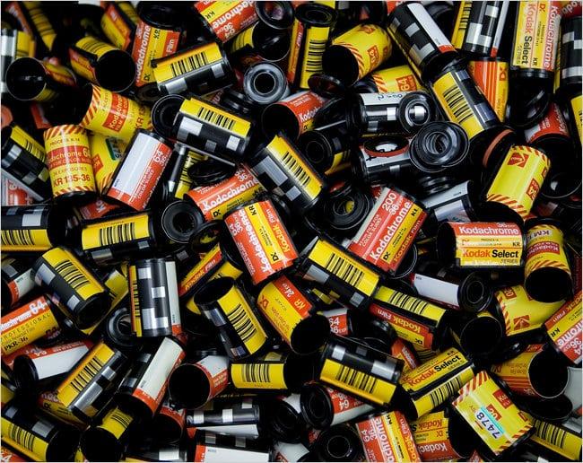 Kodachrome c'est fini