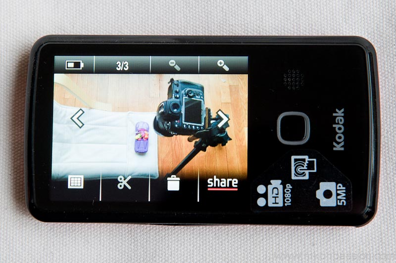 Caméra Kodak Playtouch