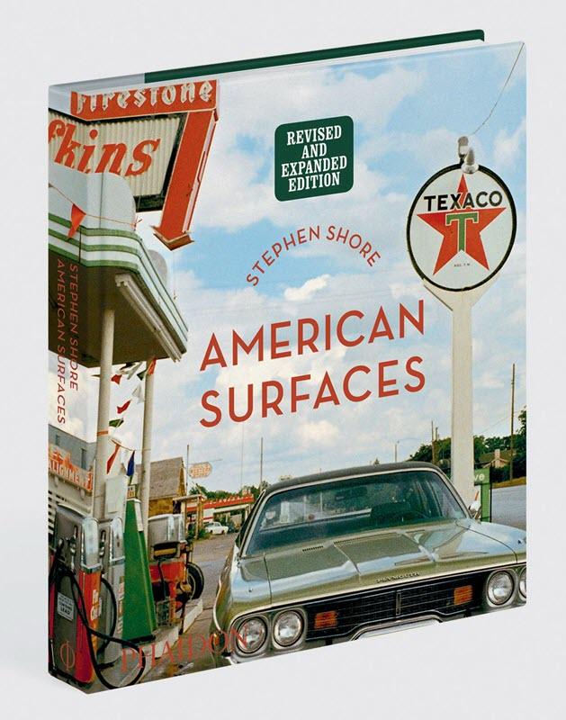 Livre de photographie en couleurs de Stephen Shore, American surfaces