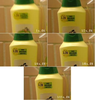 test système VR Nikon Vibration Reduction