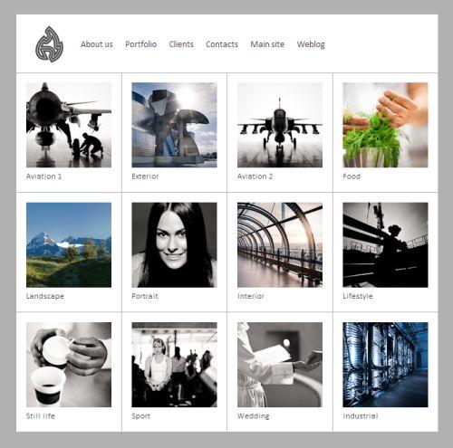 Créer un site web avec Lightroom et Impact WSPP