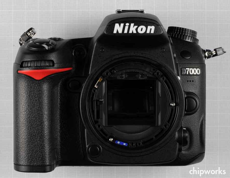 démontage du Nikon D7000