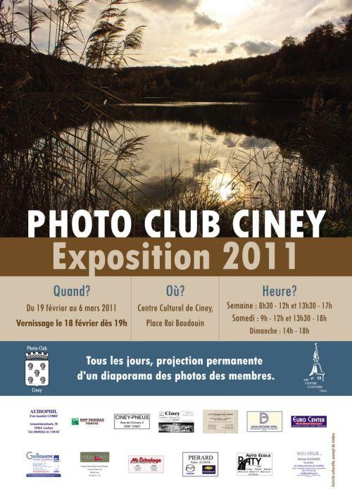 exposition 2011 du photo-club de ciney belgique