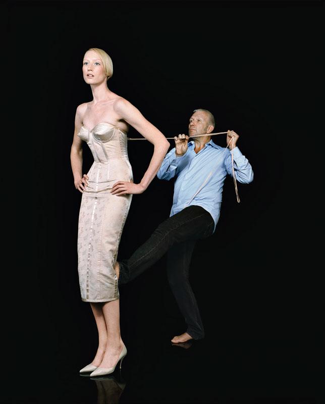 « Jean-Paul Gaultier et Jade Parfitt » - © Roberto Frankenberg