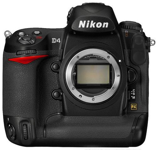 Nikon D4 port Thunderbolt