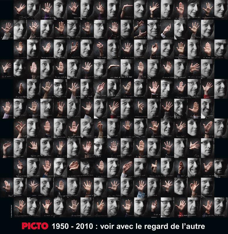 « Picto 1950-2010: voir avec le regard de l'autre » - © Jean Noël Reichel
