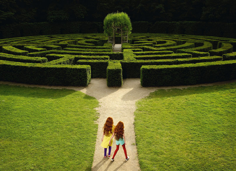 « Labyrinthe 2007 » - © René & Radka