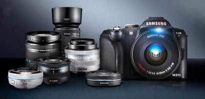 nouveaux objectifs Samsung NX