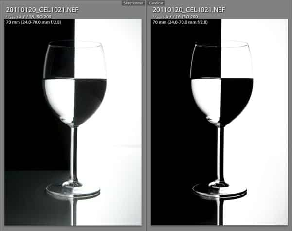 tutoriel photo studio noir et blanc