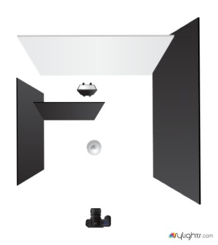 tutoriel photo studio noir ou blanc nikon passion. Black Bedroom Furniture Sets. Home Design Ideas