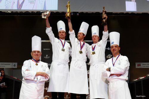 Bocuse d'or 2011 à Lyon avec Jeff Nalin et Hasselblad