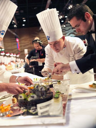 Image by Jeff Nalin, taken at the Bocuse d'Or