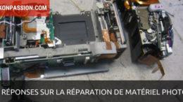 5 réponses à vos questions sur la réparation de matériel photo