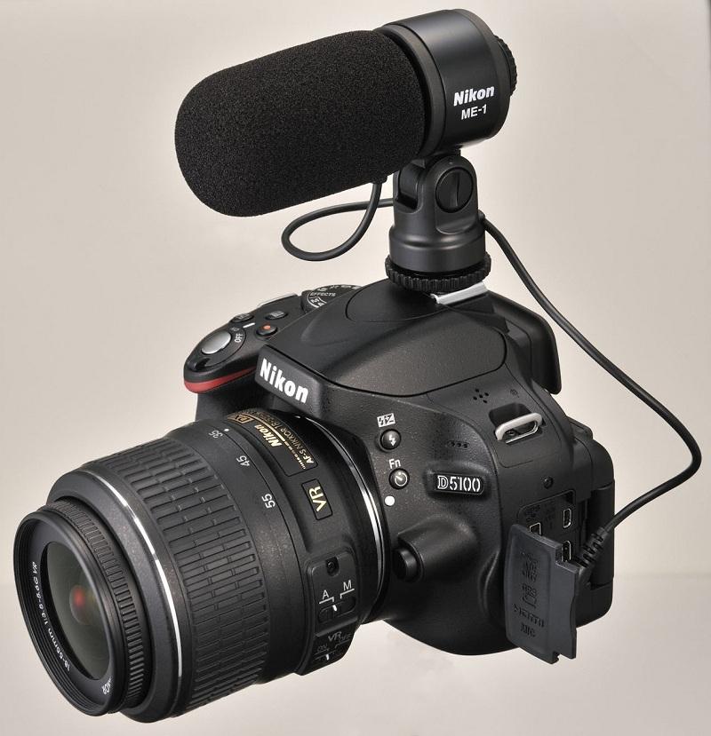 Nikon D5100 + micro Nikon ME-1