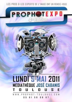 Prophot Expo 2011: photo, graphisme et vidéo reflex à Toulouse